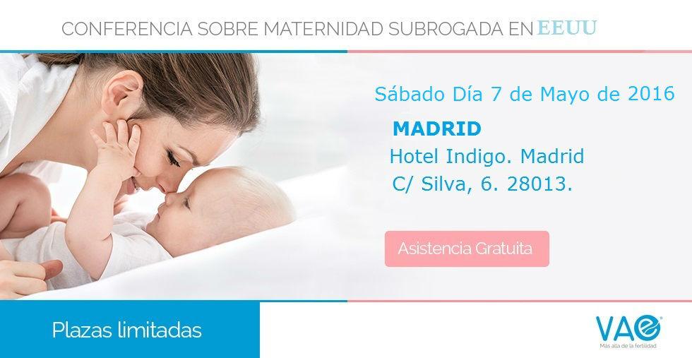 Subrogación en EEUU. Conferencia gratuita Madrid